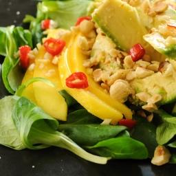 Avocado & Mango Salat.